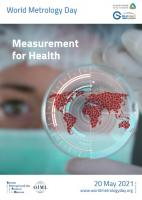 """Measurement for Health"" – the theme for World Metrology Day 2021"